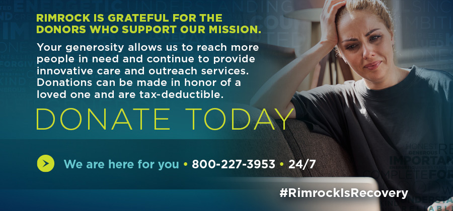 Rimrock - Rimrock is Recovery - Community of Giving