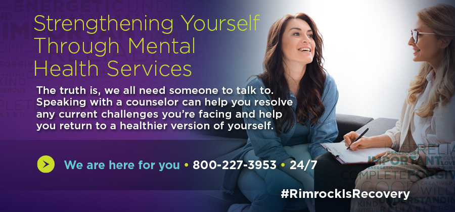 Rimrock - Rimrock is Recovery - Strengthening Yourself Through Mental Health Services