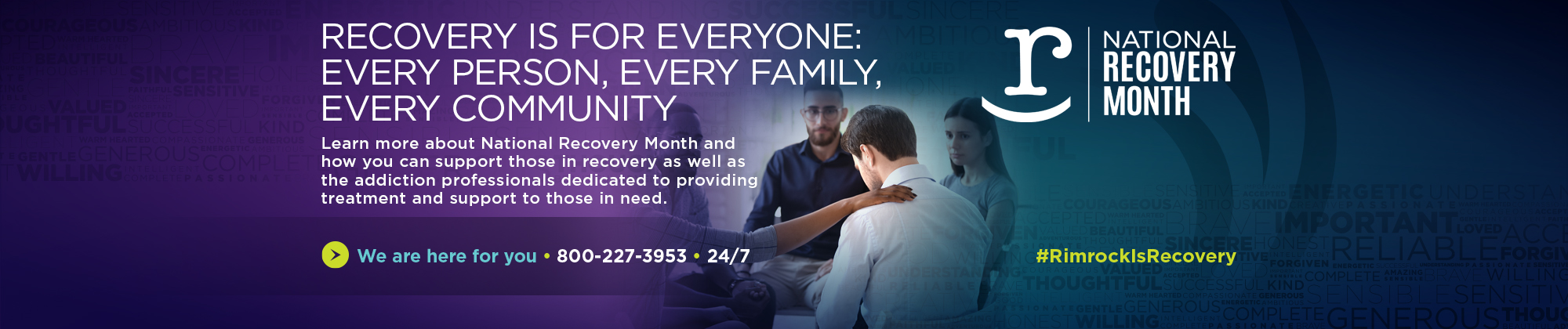 Rimrock - Rimrock is Recovery - Recovery Month